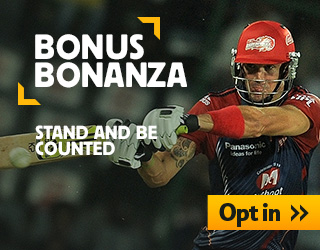 bonus on cricket